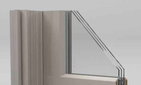 Rendering of the Thin-Glass Triple-Pane Window courtesy of Andersen Corporation, Renewal by Andersen